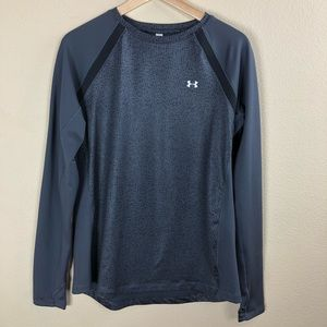 Under Armour Women's Long Slv Fitted Athletic Top